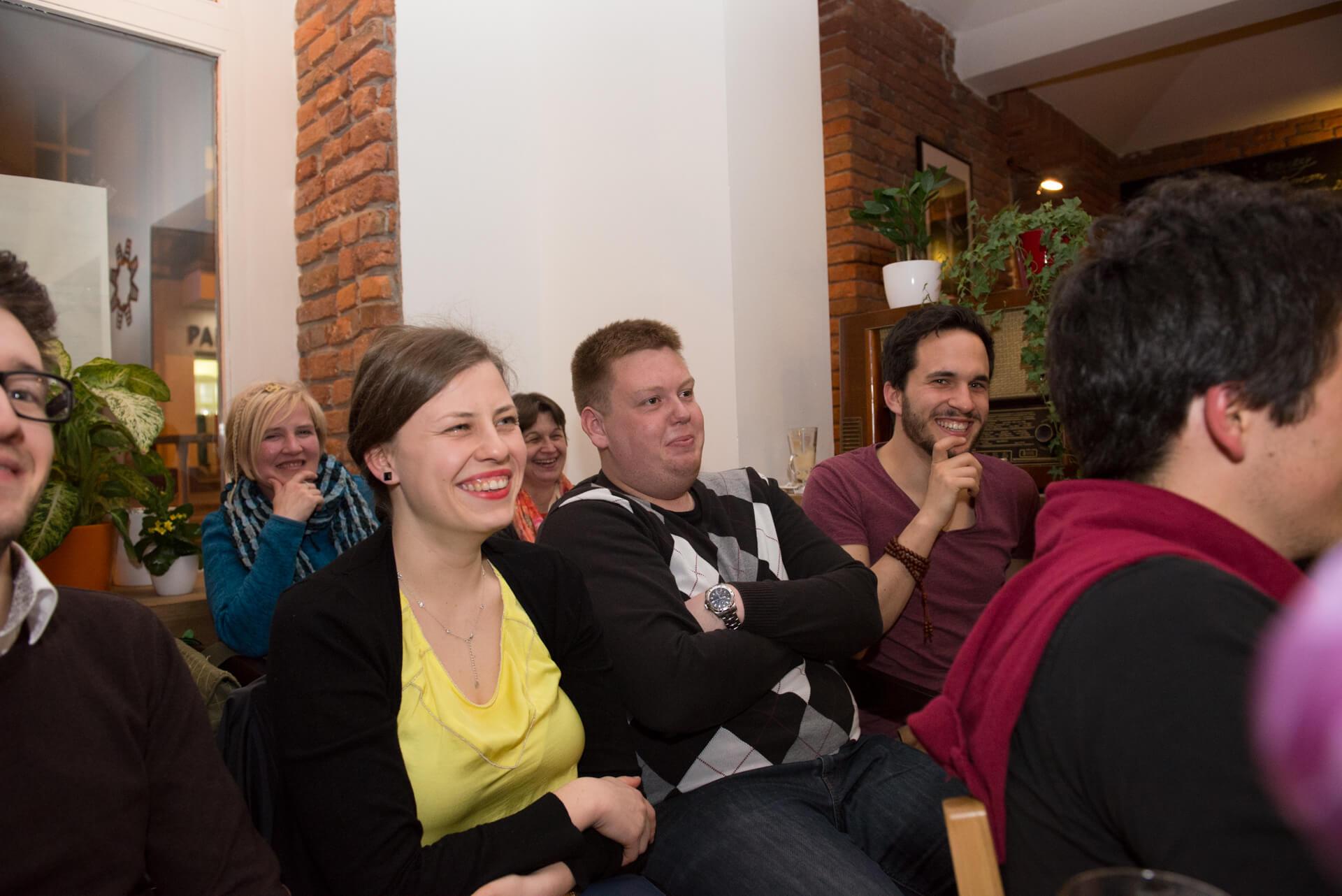 Naše krásné publikum